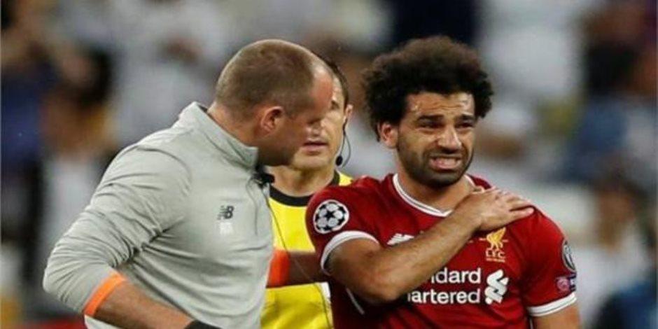 يلحق بالمباراة الأولى في كأس العالم.. وزير الرياضة يكشف آخر تطورات إصابة محمد صلاح
