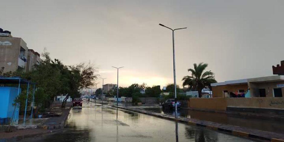 «أمطار غزيرة وبرق ورياح أحمدك يا رب».. سانت كاترين يغزوها الشتاء من جديد