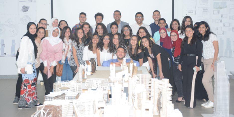 معرض لتصميمات مباني لطلاب الهندسة بأفكار مبدعة وخارج الصندوق تعرض على شركات دولية