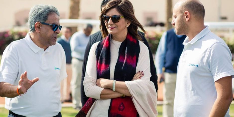 وزيرة الهجرة تطلق معسكر رياضي لأبناء الجيلين الثاني والثالث للمصريين بالخارج (فيديو)