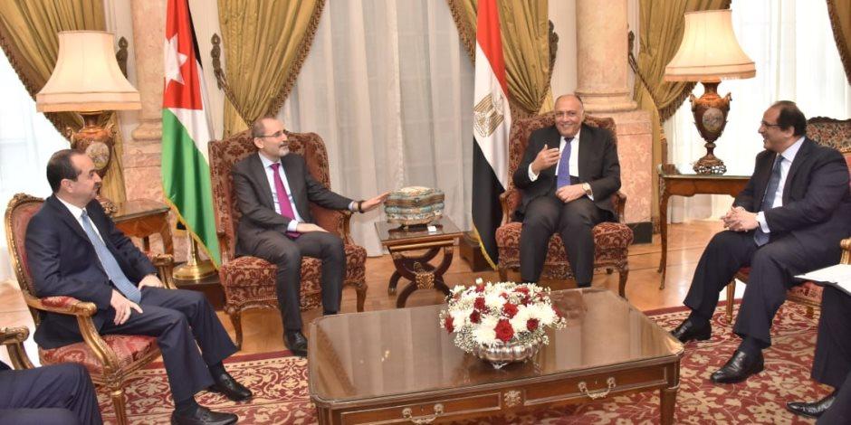 مكافحة الإرهاب على مائدة وزراء خارجية ورؤساء مخابرات مصر والأردن بالقاهرة