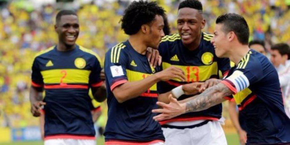 استعداداً لكأس العالم.. فالكاو ورودريجيز يقودان كولومبيا ضد مصر