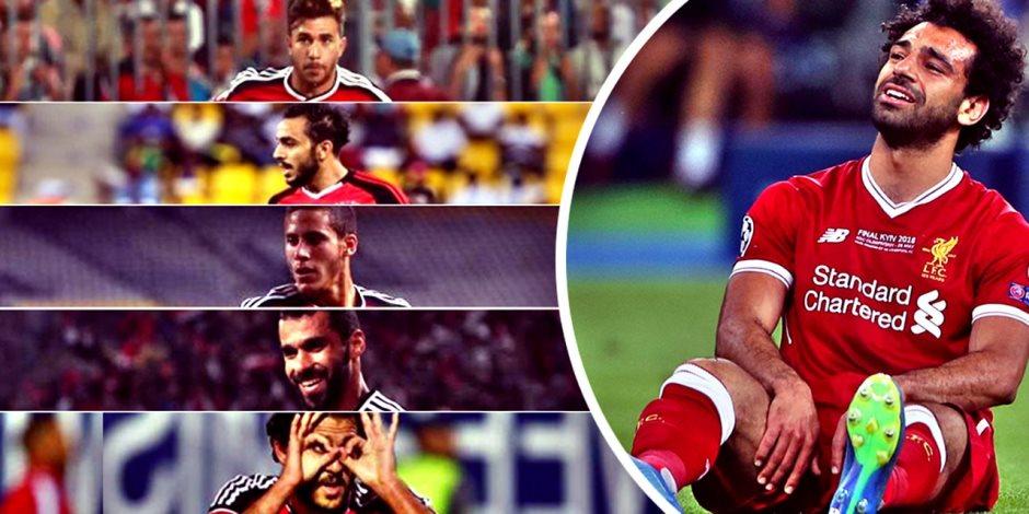 5 لاعبين قادرين على إعادة المنتخب في غياب صلاح