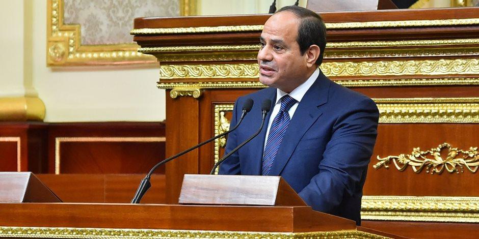 «ولاية بناء الإنسان المصري».. ننشر نص كلمة السيسي أمام البرلمان بعد حلف اليمين