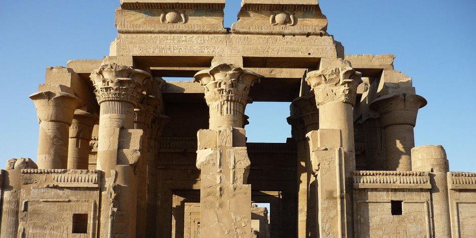 الآثار تقترب من الافتتاح التجريبي لمعبد كوم أمبو بعد تخفيض منسوب المياه الجوفية