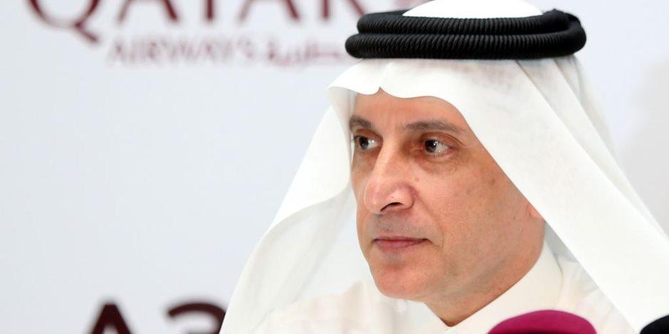 عام على تأديب قطر.. اعترافات رئيس الخطوط الجوية القطرية تفضح تنظيم الحمدين