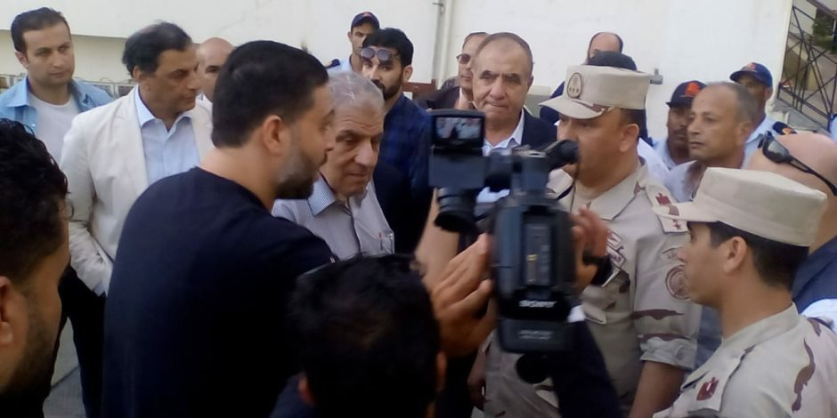مستشفى العريش تثير إعجاب مستشار رئيس الجمهورية والوفد المرافق له (صور)
