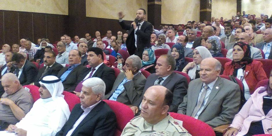 إبراهيم محلب يبعث رسائل الأمن من شمال سيناء: مصر قادرة على اقتلاع جذور الإرهاب