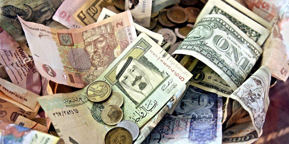 اسعار العملات اليوم الثلاثاء 12-6-2018.. انخفاض اليورو وارتفاع الريال السعودي