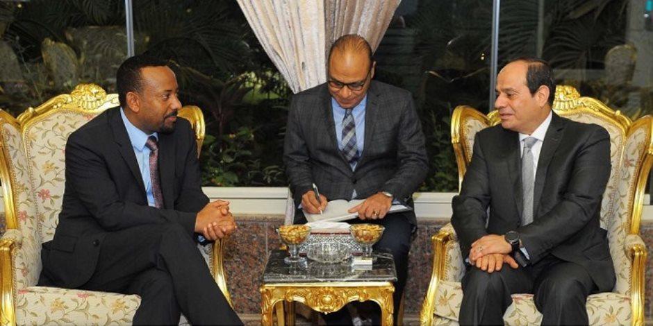 أبيي فى القاهرة.. توافق مصري إثيوبي لتبني رؤية مشتركة حول سد النهضة