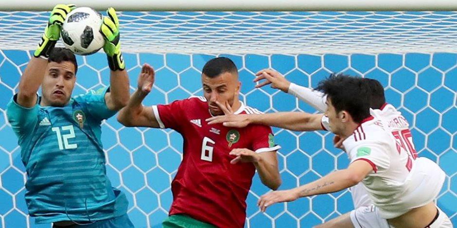 كاس العالم روسيا 2018.. المغرب تسجل حضورا قويا وتسقط في الدقيقة 91 أمام إيران