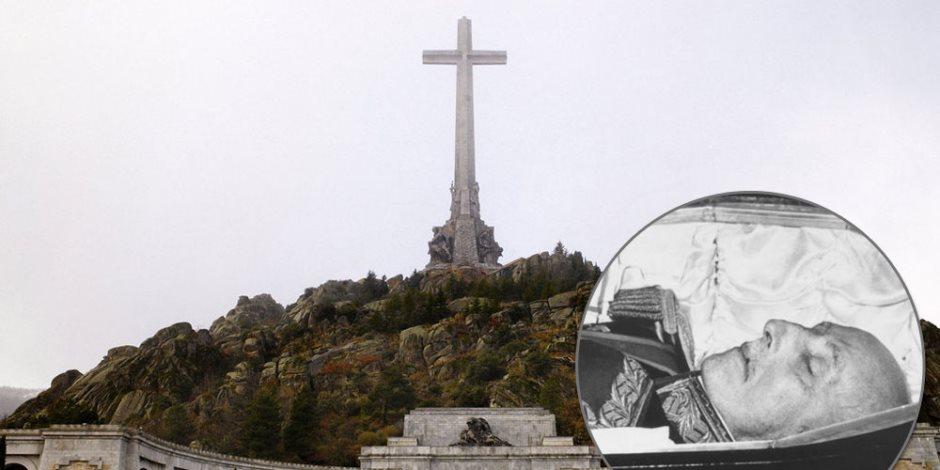 في إسبانيا الميت ملوش حُرمة.. سر نبش حكومة مدريد لقبر صديق هتلر وموسيليني