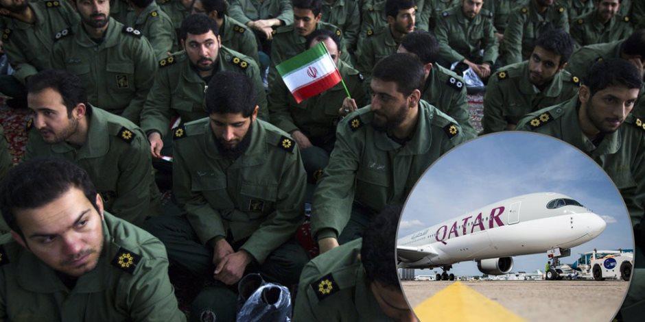 حسنة وأنا سيدك.. ميليشيات إيران تغتصب قطر في الأرض وشعبها يشحت أموالها في السماء