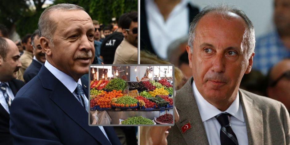 """سوق الخضار يتمرد على أردوغان.. هل يفجر """"البصل"""" دموع الديكتاتور في الانتخابات؟"""