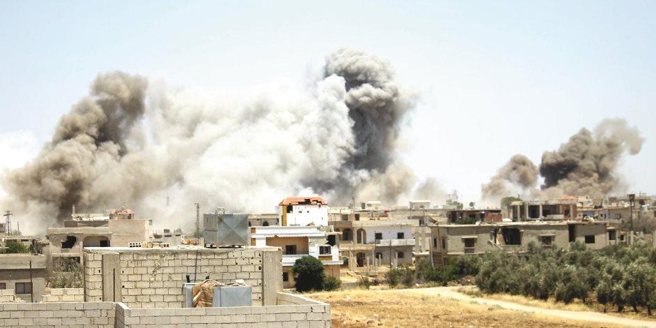 طيران روسي وغضب أمريكي.. ماذا فعلت روسيا في درعا السورية؟