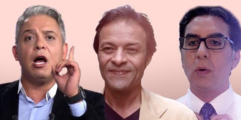 معتز مطر ومحمد ناصر وهشام عبدالله.. «منافقين برخصة» (فيديو)