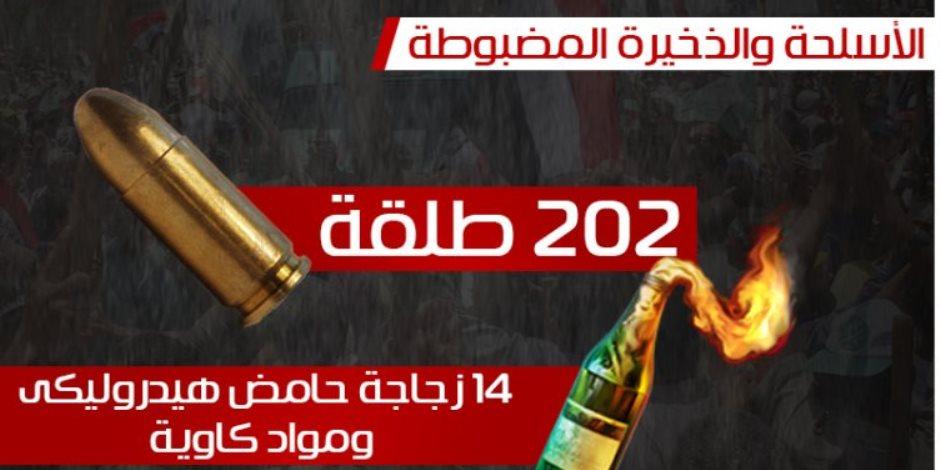 بالأرقام.. حصيلة عنف الإخوان خلال فض «اعتصام رابعة» المسلح