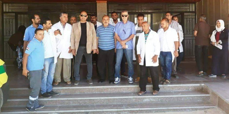 في ذكرى 30 يونيو.. صحة شمال سيناء تواصل دعم مستشفيات رفح والشيخ زويد (صور)