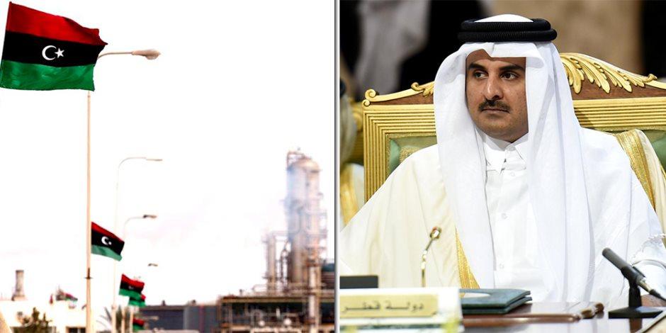8 إجراءات تكشف تورط أمير قطر فى تقسيم ليبيا.. ماذا فعل رأس الشيطان؟