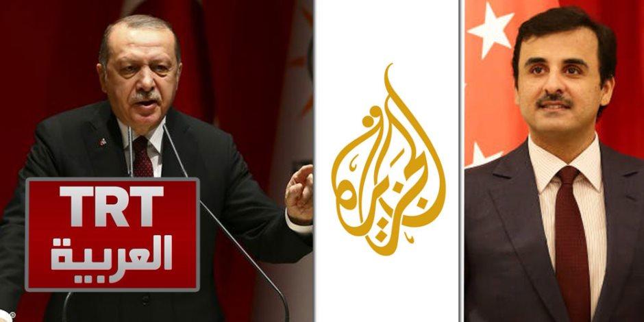 استهداف مصر والسعودية عرض مستمر.. الإعلام التركي يتخذ الجزيرة قدوة