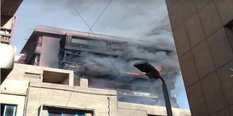 النور يتحدى النار.. بطولات ملائكة الرحمة أثناء حريق مستشفى الحسين الجامعي