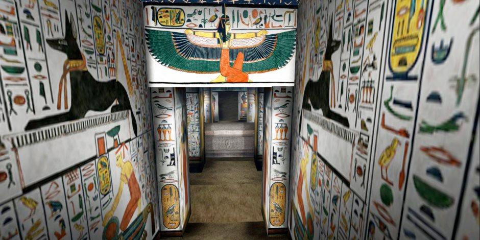 السياحة عبر الواقع الافتراضى.. تجول في مقبرة نفرتاري وأنت جالس في منزلك