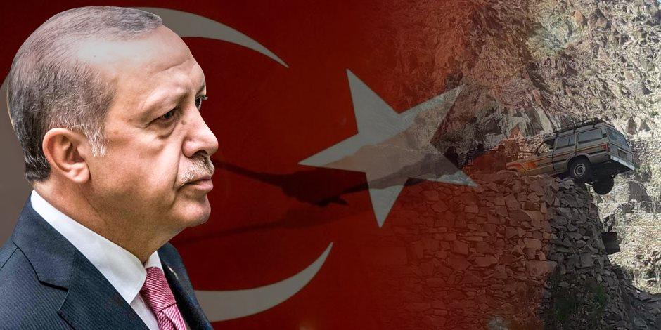 عربة هوجاء على المنحدر.. طموح أردوغان في استنساخ الإمبراطورية يقود تركيا للهاوية