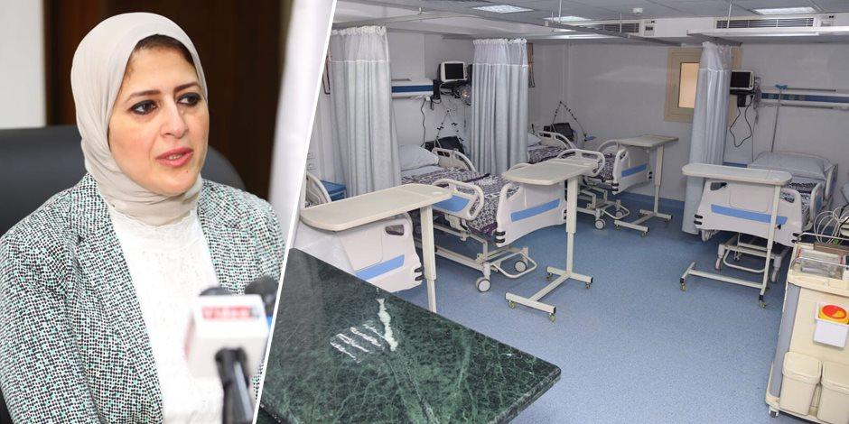 لتقديم خدمة تليق بكرامة المواطن.. كيف تتصدى وزيرة الصحة للمقصرين فى علاج المرضى؟