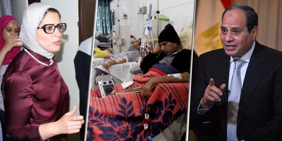 وزيرة الصحة تتابع كل التفاصيل.. التأمين الصحي الشامل شغال والصحة هتبقى عال