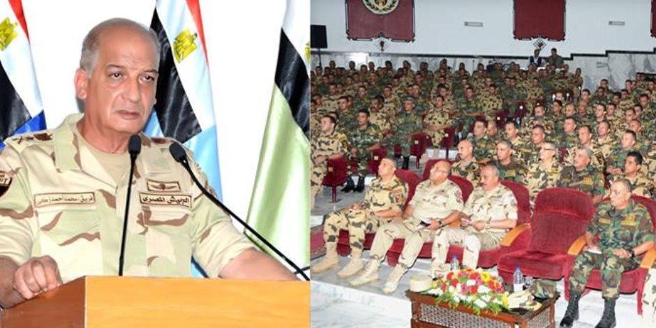 المتحدث العسكري ينشر فيديو لقاء وزير الدفاع مع مقاتلي الوحدات الخاصة (فيديو)