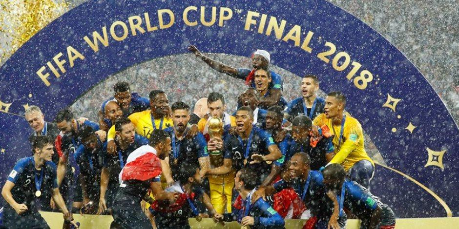 الديوك تصيح في سماء روسيا.. 6 إنجازات حققها منتخب فرنسا بنهائي كأس العالم
