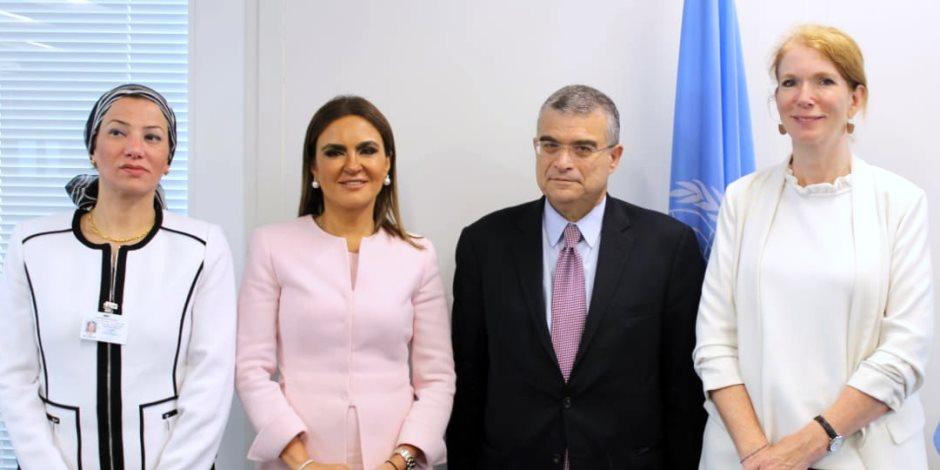 غزوة سحر وهالة وياسمين في الأمم المتحدة.. كيف أشاد المجتمع الدولي بإصلاحات مصر ؟