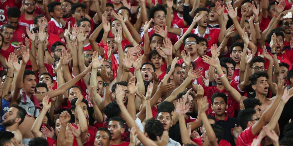 تفتيش جماهير الأهلي داخل وخارج برج العرب واحتجاز حاملى التذاكر المزورة