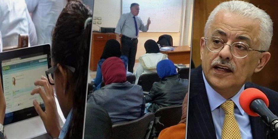 «التابلت وشبكات الفايبر».. كيف استعدت «التعليم» لاستقبال العام الدراسي الجديد
