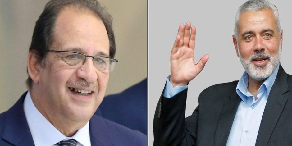 حماس تبلغ الوزير عباس كامل رئيس المخابرات العامة موافقتها على ورقة مصر للمصالحة