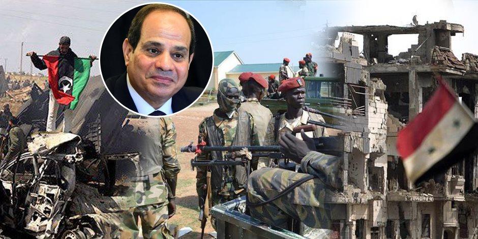 من سوريا إلى جنوب السودان.. مصر الشقيقة الكبرى تقود المنطقة إلى الاستقرار