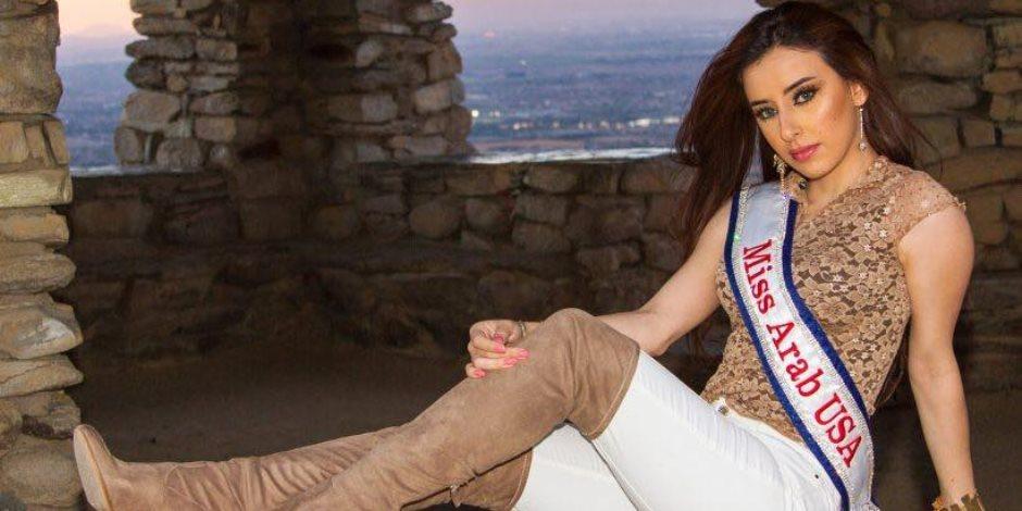 رسالة ملكة جمال العرب فى أمريكا من شرم الشيخ: مصر بلد الأمن والأمان (صور)
