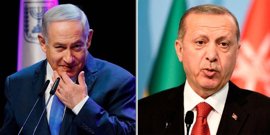 رجل تل أبيب في أنقرة.. أردوغان يُضاع معاملات تركيا مع إسرائيل 250% منذ وصوله للحكم
