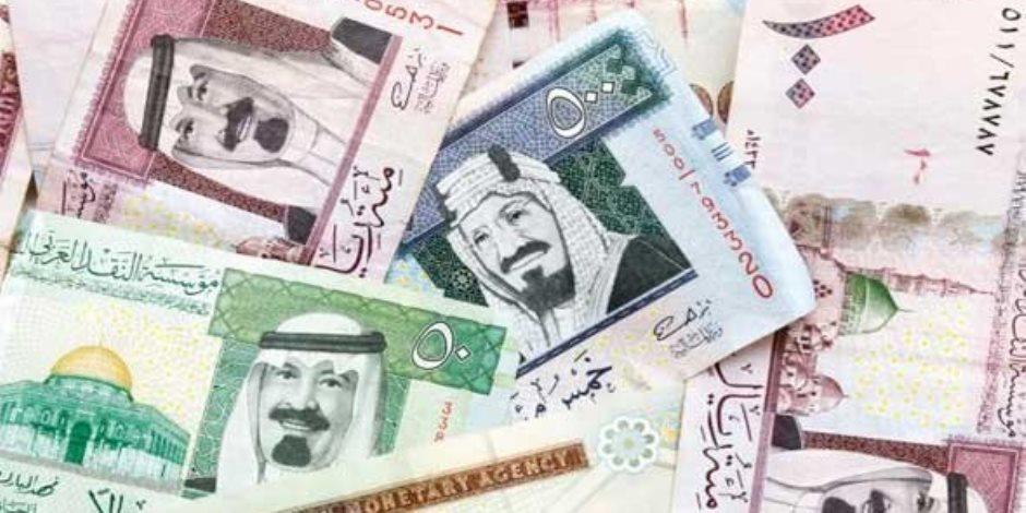 سعر الريال السعودى اليوم الخميس 8-11-2018 فى مصر