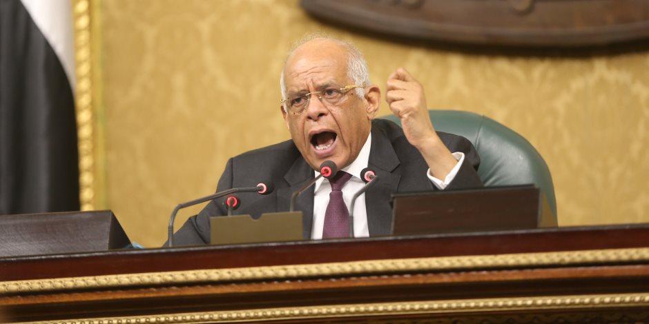 رئيس البرلمان ينعي شهداء المنيا ويطالب الشعب بالاصطفاف لمواجهة الجماعات الظلامية