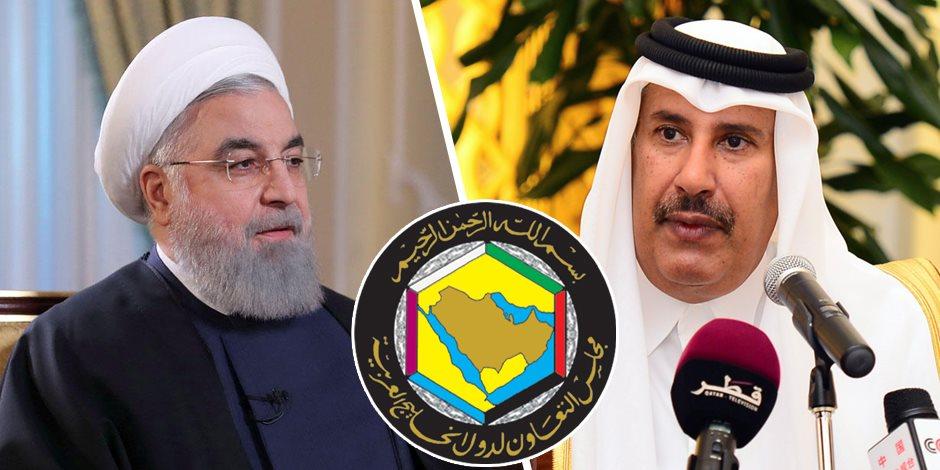 هل يجيب حمد بن جاسم على مطلب «روحاني» بتصحيح العلاقات مع الخليج؟