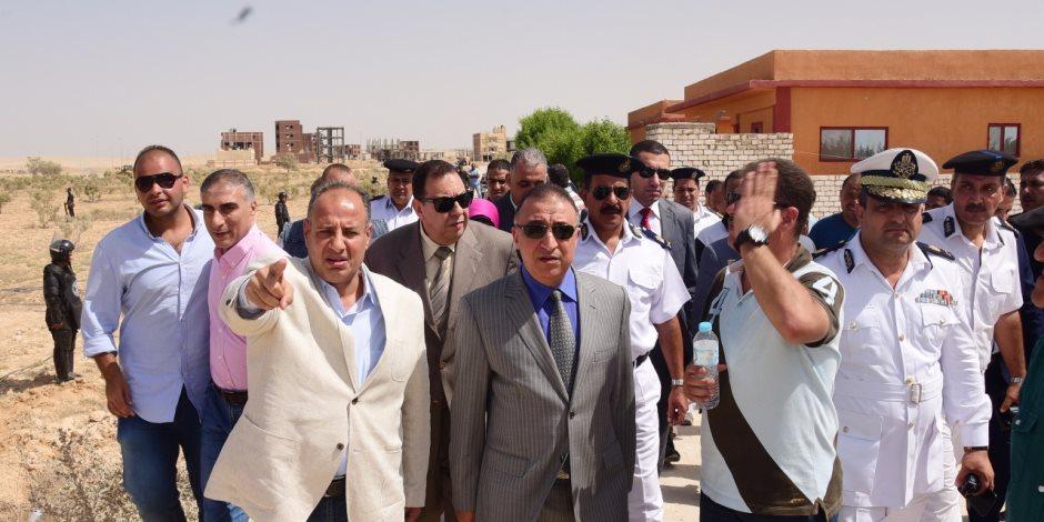 تطهير مليوني متر مربع واسترداد 13 ألف فدان.. خطة فرض القانون في 18 محافظة