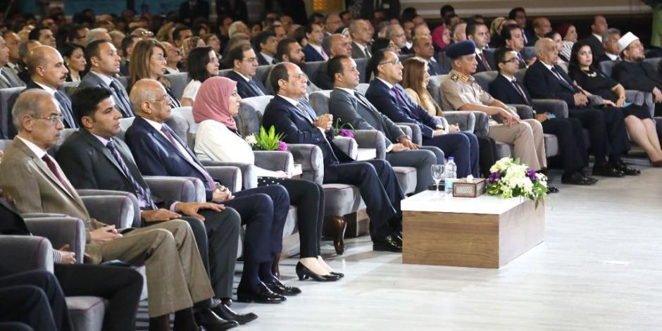 لحظة بلحظة.. فعاليات مؤتمر الشباب السادس بحضور الرئيس السيسي (صور وفيديو)