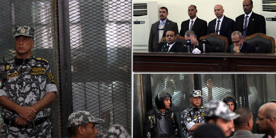 بعد تداولها فى 66 جلسة.. محطات «فض رابعة» حتى إحالة 70 متهما للمفتى