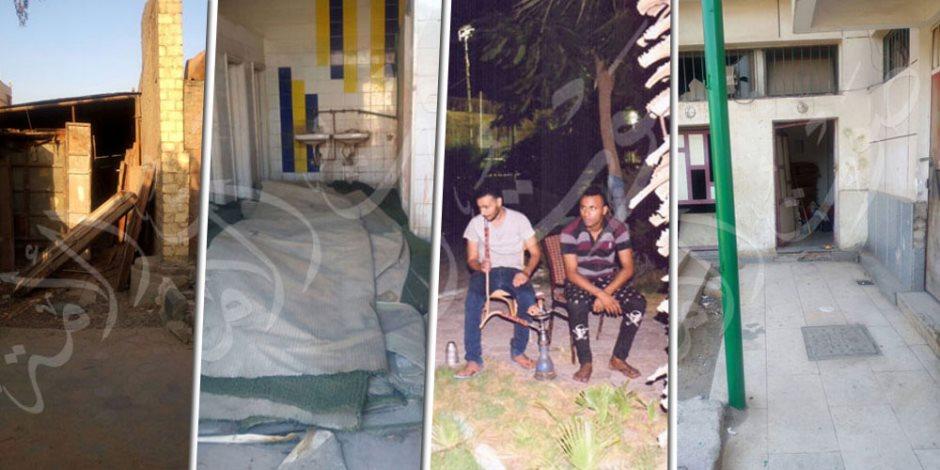 نادي تنمية السيدة زينب سابقا.. هنا مركز الشيشة وتربية الحيوانات في رحاب آل البيت (صور)