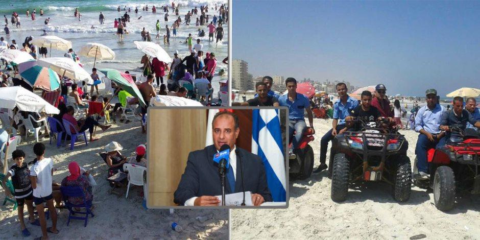 كيف غرق المصطافين في شاطئ النخيل؟.. محافظ الإسكندرية: أسباب الغرق 3