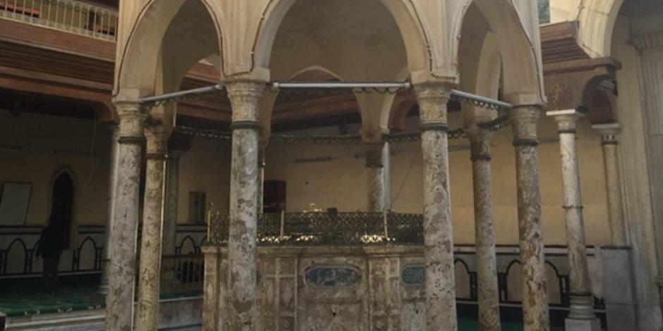 صهريج مسجد البوصيرى بالإسكندرية.. سقاية المصليين من الصفوف الأولى