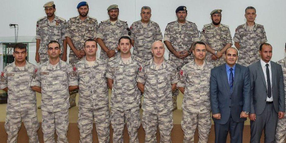 القوات التركية في الدوحة تتعلم العربية.. هل يتحول الجيش القطري إلى معسكر للأتراك؟