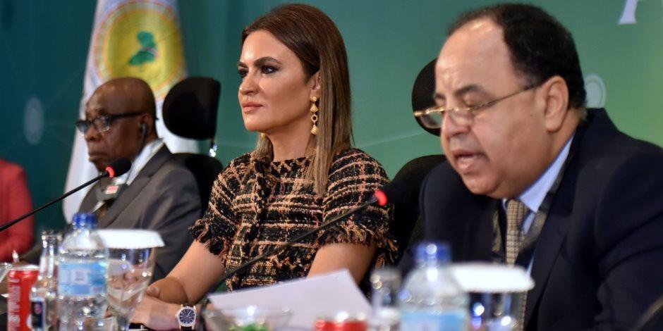 بالعربي والانجليزي.. وزيرا الاستثمار والمالية يعرضان خطة مصر لتعزيز التعاون الإفريقي