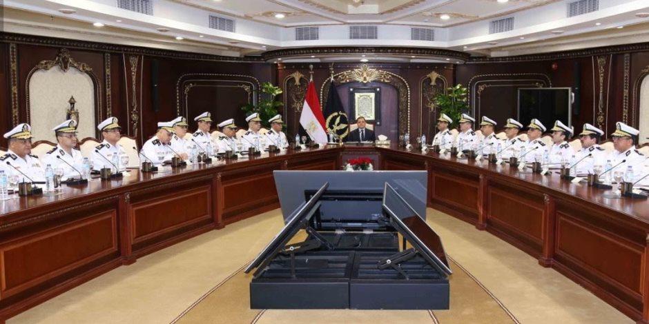 ماذا قال وزير الداخلية لمساعديه الجدد من القيادات الأمنية؟